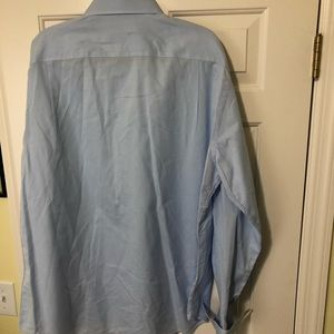 Canali Shirts - Canali Designer dress light blue shirt 46/18 XL